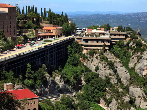 Barcelona Spain Cog wheel Train Excursion Reservations