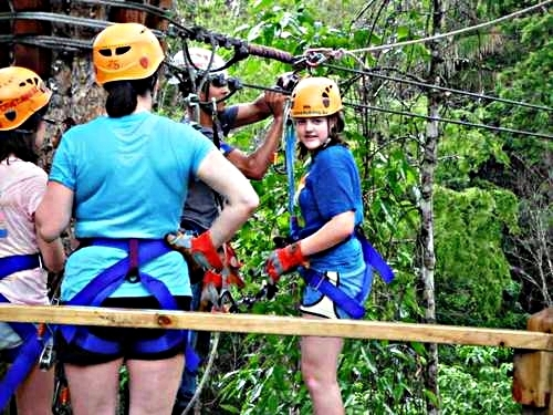 Belize City atv and zip line Trip Booking