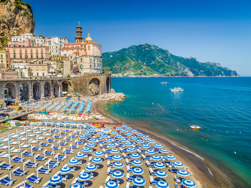 Naples  Italy Amalfi Beach Trip Tickets