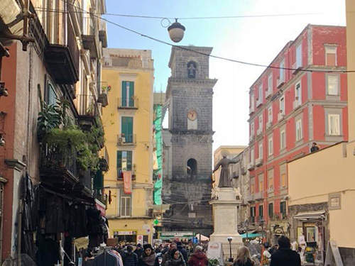 Naples Piazza San Domenico Shore Excursion Reviews