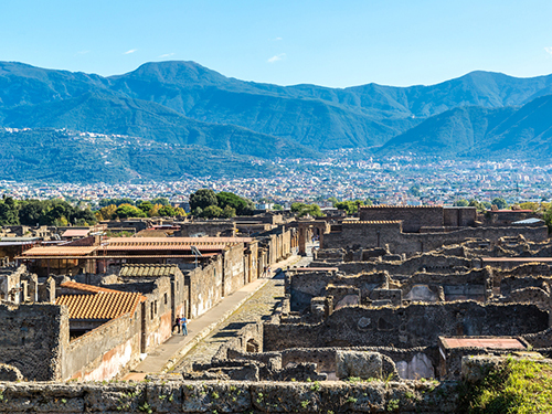 Naples Pompeii Walking Excursion Reservations
