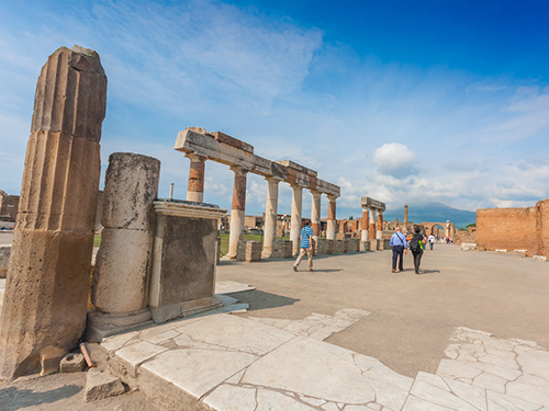 Naples Italy Ruins Sightseeing Excursion Booking