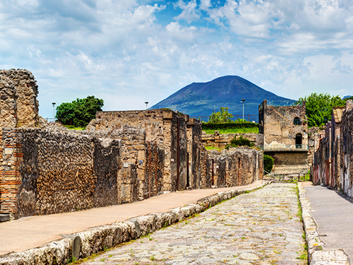 Naples Italy Volcano Sightseeing Excursion Reservations