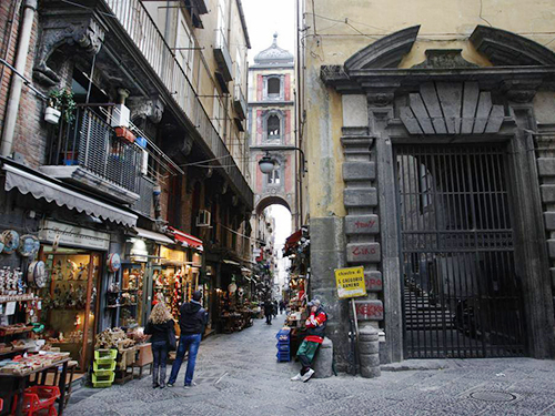 Naples Gregorio Armeno Cruise Excursion Reservations