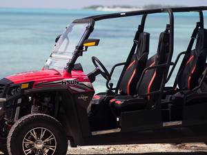 Nassau 4-Hour Buggy 6 Seater Rental