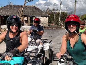 Nassau ATV Guided Sightseeing Excursion with Lunch