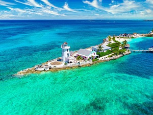 Nassau Pearl Island Exclusive Beach Break with Lunch Excursion
