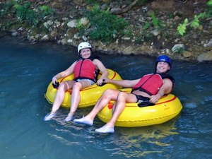 Ocho Rios Bengal Falls River Tubing and Private Beach Excursion