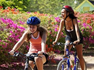 Ocho Rios Countryside Bike, Hike and Private Beach Excursion