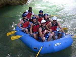 Ocho Rios River Rafting and Private Beach Excursion
