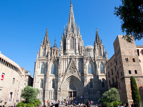 Barcelona  Spain Gothic Trip Reservations
