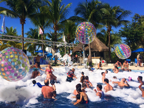 Cozumel kids pool  Para Sail Excursions Cost