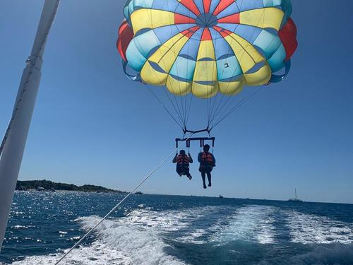 Cozumel Port relaxation Parasailing Shore Excursions Reviews