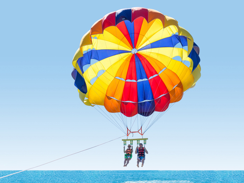 Cozumel Island relaxation Parasail Excursions Booking