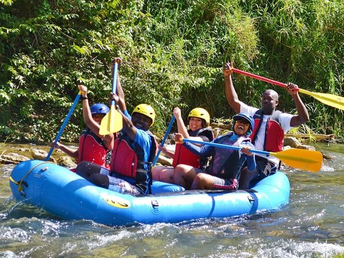 Montego Bay river rafting Trip