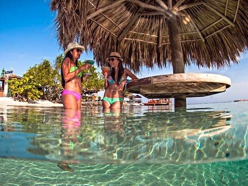 Roatan Honduras private island day pass Excursion Cost