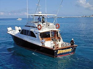 Private Luxury Snorkel and Fishing Yacht Charter Excursion in Cozumel