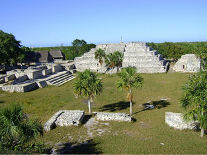 Progreso Xcambo Mayan Ruins and All Inclusive Beach Day Excursion