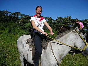 Puerto Caldera Beach and Rainforest Horseback Riding with Crocodile Safari Boat Excursion