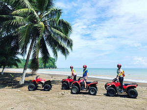 Puerto Caldera Jungle and River ATV and Crocodile Boat Safari Excursion