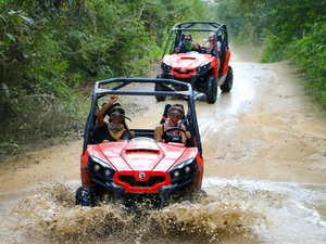 Puerto Caldera Jungle and River Buggy Adventure with Boat Safari Excursion