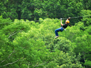 Puerto Caldera Zipline Canopy Adventure and Boat Safari Excursion