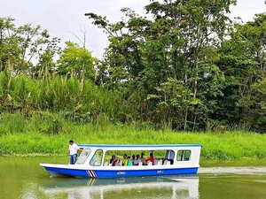 Puerto Limon Cahuita National Park, Tortuguero River Cruise and Banana Plantation Excursion