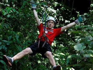 Puerto Limon Rainforest Combo Exploration, Aerial Tram and Zipline Excursion