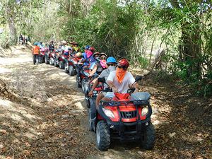 Puerto Plata Taino Bay ATV Off-Road and 8 Zip Lines Adventure Excursion