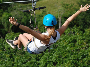 Puerto Plata Taino Bay Ziplines, Horseback Ride and Lunch Excursion
