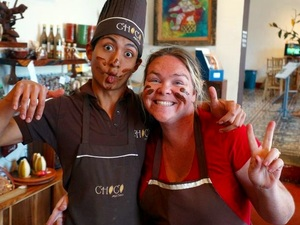 Puerto Quetzal Antigua Sightseeing and Chocolate Making Workshop Excursion