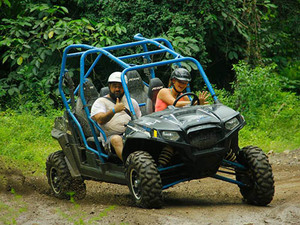 Puerto Vallarta RZR Buggy to Jorullo Bridge and Waterfall Excursion
