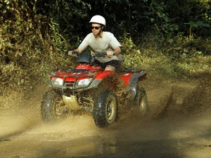 Puerto Vallarta Zipline and ATV Combo Excursion