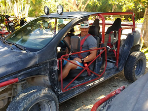 Punta Sur Dune Buggy Adventure Excursion in Cozumel from Playa del Carmen