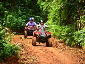 Puntarenas Jungle and River ATV Adventure and Crocodile Boat Excursion