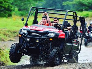 Puntarenas Jungle and River Buggy Adventure with Boat Safari Excursion