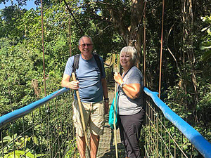 Puntarenas Rainforest Treetop Skywalk Half Day Excursion