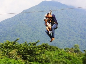 Puntarenas Ultimate Aerial Tram and Adventure Canopy Zip Line Excursion