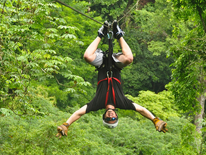 Puntarenas Zipline Canopy Adventure and Boat Safari Excursion