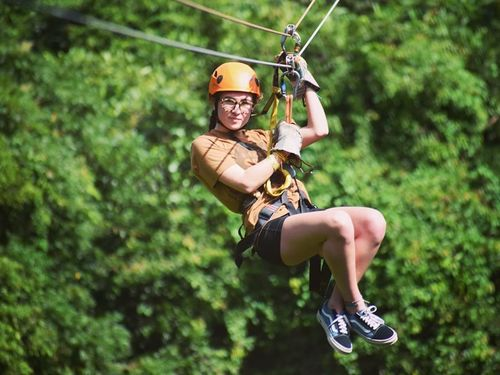Roatan Canopy Zip line  Cruise Excursion Reservations