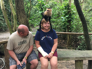 Roatan City Highlights, Monkey and Sloth Hangout, Snorkel and Beach Break Excursion
