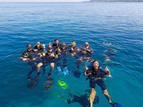 Roatan learn to dive Cruise Excursion Booking