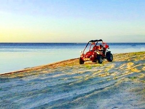 Roatan Dune Buggy Jungle and Beach Adventure Excursion
