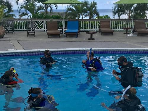 Roatan Honduras learn to dive Cruise Excursion Booking