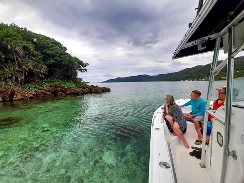 Roatan  Honduras Private Eco nature Boat Tour Tickets