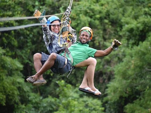 Roatan Honduras jungle canopy zipline Cruise Excursion Reviews