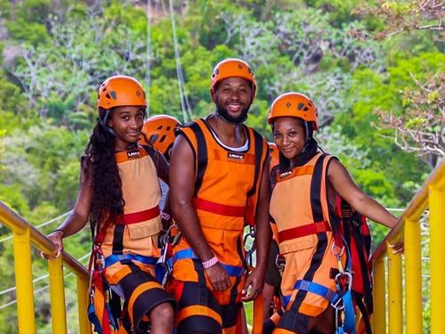 Roatan Jungle Zip Line Cruise Excursion Booking