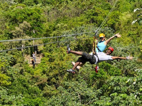 Roatan Jungle Zip Line Cruise Excursion Reservations