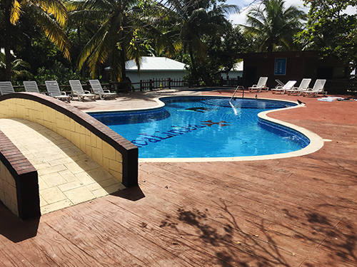 Roatan Pool  Shore Excursion Reservations