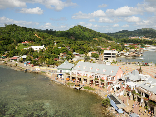 Roatan Zip Line, Island Highlights and West Bay Beach Excursion